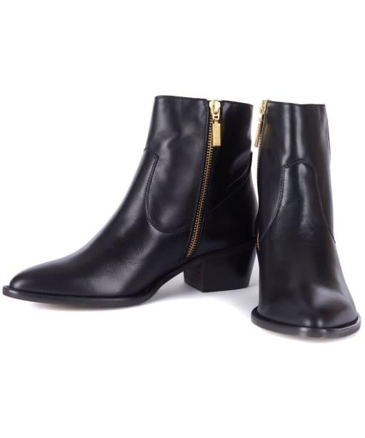 Women's Barbour International Isabel Boots - Black