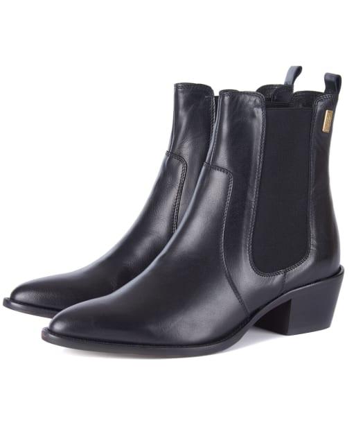 Women's Barbour International Zara Chelsea Boots - Black