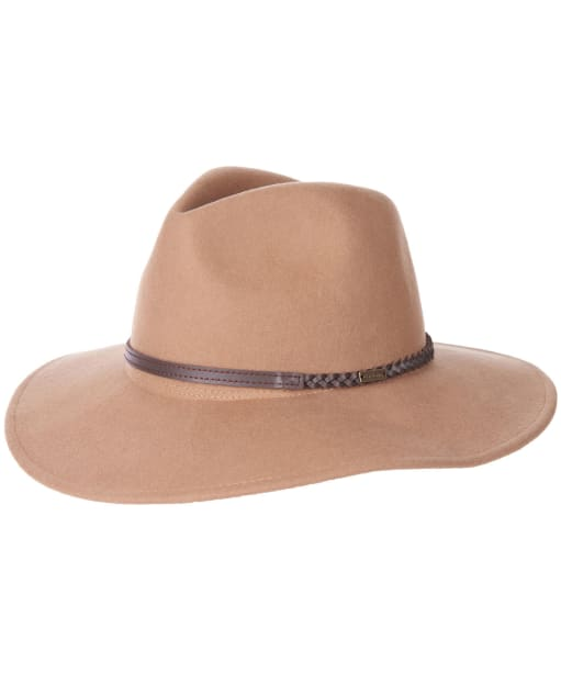 Barbour Tack Fedora Hat - Camel