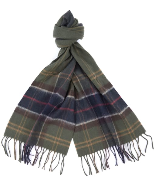 Barbour Tartan Ended Scarf - Classic Tartan
