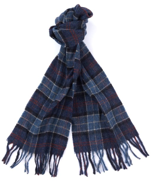 Barbour Robinson Tartan Scarf - Denim Blue