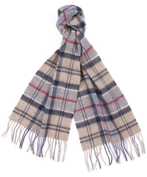 Barbour Tartan Merino Cashmere Wool Scarf - New Dress Tartan
