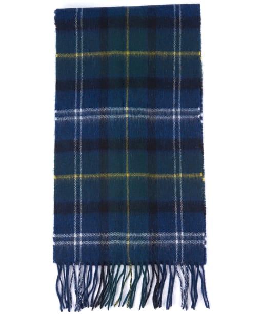 Barbour Tartan Merino Cashmere Wool Scarf - Seawood Tartan