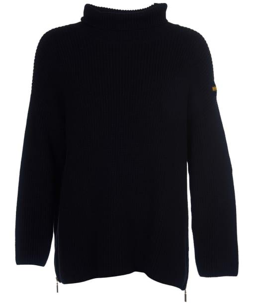 Women's Barbour International Kendrew Knit - Black