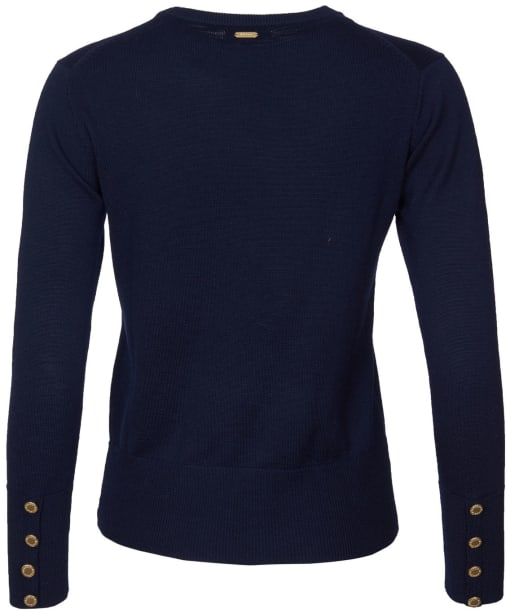 Women's Barbour Ridley Knit - Navy