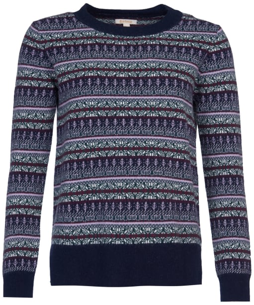Women's Barbour Peak Knit - Navy