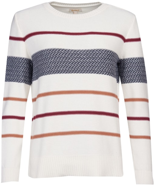 Women's Barbour Paddle Knit - Off White