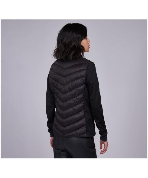 Women's Barbour International Everly Sweater - Black