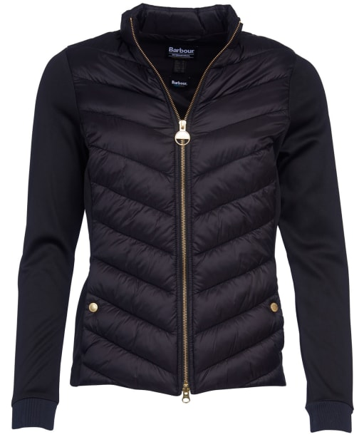 Women's Barbour International Everly Sweater - Black