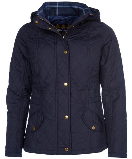 Women's Barbour Millfire Quilted Jacket - Dark Navy