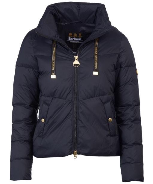 Women's Barbour International Kendrew Quilted Jacket - Black