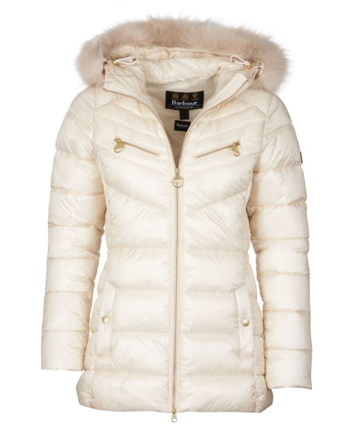 Women's Barbour International Grounding Quilted Jacket - Calico