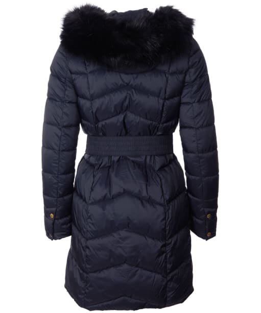 Women's Barbour International Match Quilted Jacket - Black