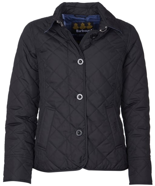 Women's Barbour Forth Quilted Jacket - Black