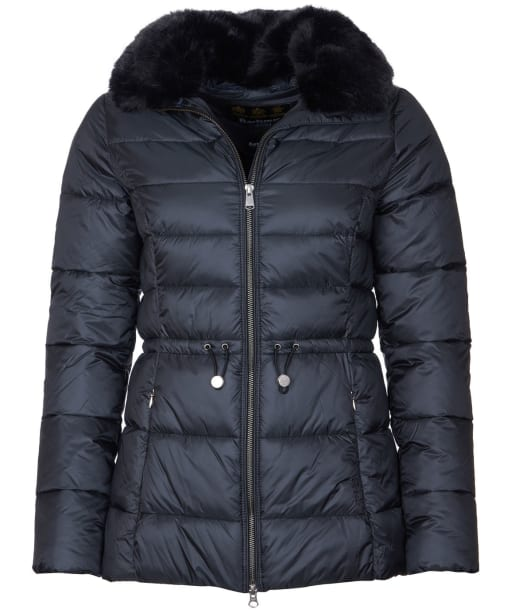 Women's Barbour Angus Quilted Jacket - Black