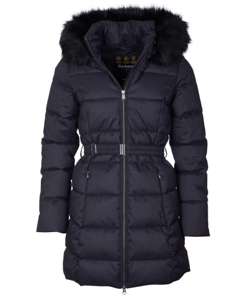 Women's Barbour Oykel Quilted Jacket - Black