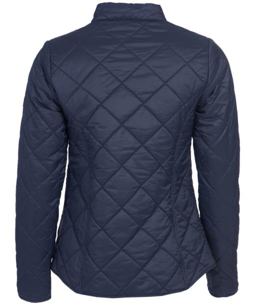 Women's Barbour Petrel Quilted Jacket - Dark Navy