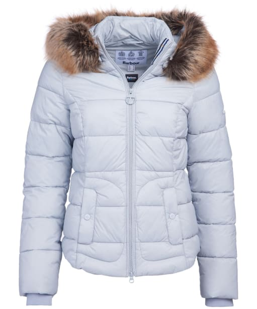 Women's Barbour Dover Quilted Jacket - Gray Dawn