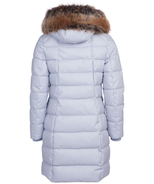 Women's Barbour Guanay Quilted Jacket - Gray Dawn