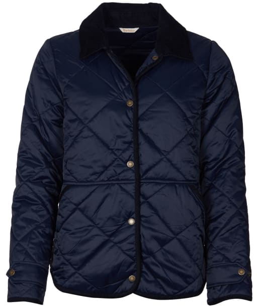 Women's Barbour Mallow Quilted Jacket - Dark Navy