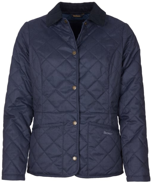 Women's Barbour Huddleson Quilted Jacket - Navy