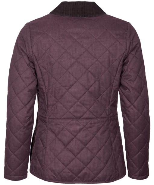 Women's Barbour Huddleson Quilted Jacket - Winter Blackberry
