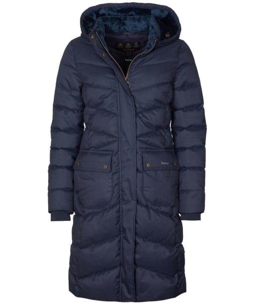 Women's Barbour Kingston Quilted Jacket - Navy
