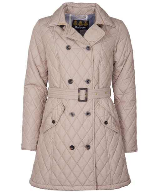 Women's Barbour Cornell Quilted Jacket - Light Trench