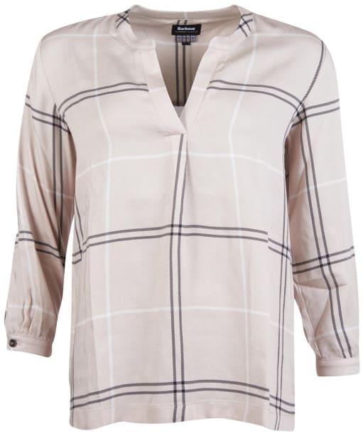 Women's Barbour Earn Shirt - Cream