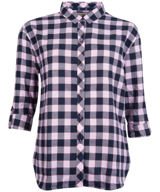 Women's Barbour Cassins Shirt - Orchid Check