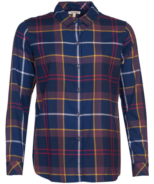 Women's Barbour Moorland Shirt - Navy Check