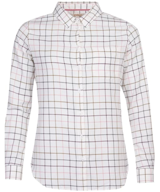 Women's Barbour Triplebar Shirt - Cloud Check