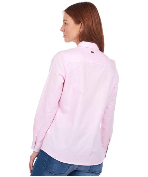 Women's Barbour Derwent Shirt - Pale Pink