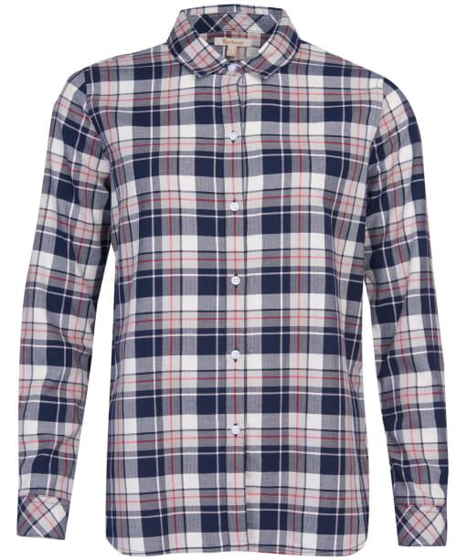 Women's Barbour Stokehold Shirt - Navy Check