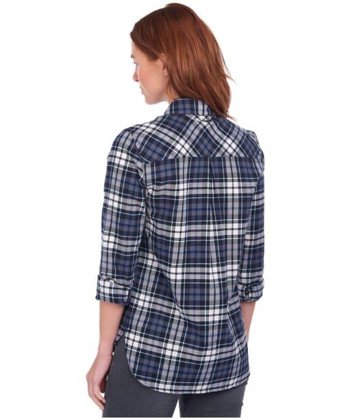 Women's Barbour Moors Shirt - Navy Check