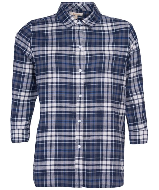 Women's Barbour Moors Shirt - Navy Check