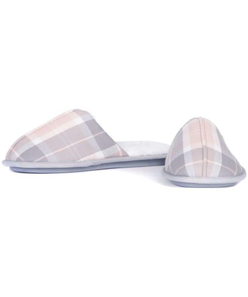 Women's Barbour Maddie Slippers - Pink / Grey Tartan