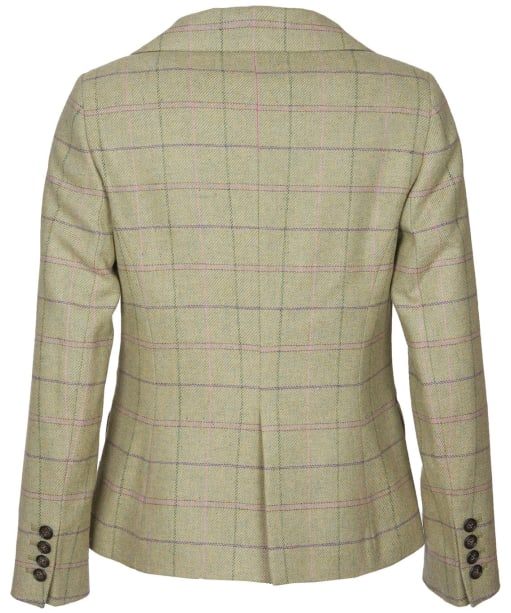 Women's Barbour Trent Tailored Wool Jacket - Green