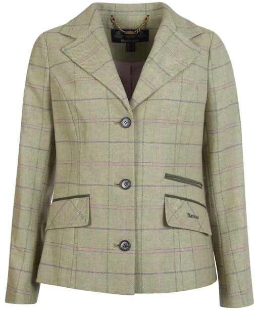 Women's Barbour Trent Tailored Wool Jacket - Green