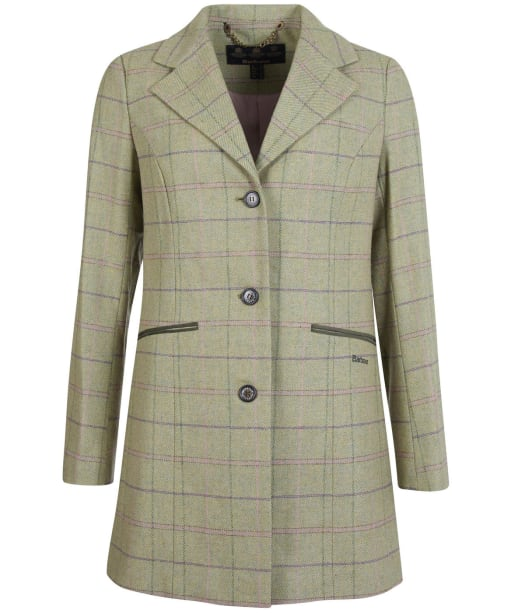 Women's Barbour Ridley Tailored Wool Jacket - Green