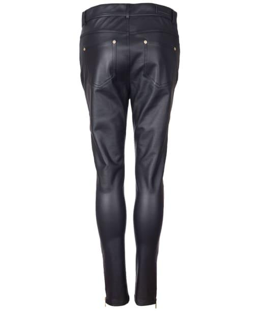 Women's Barbour International Goodwood Skinny Trousers - Black
