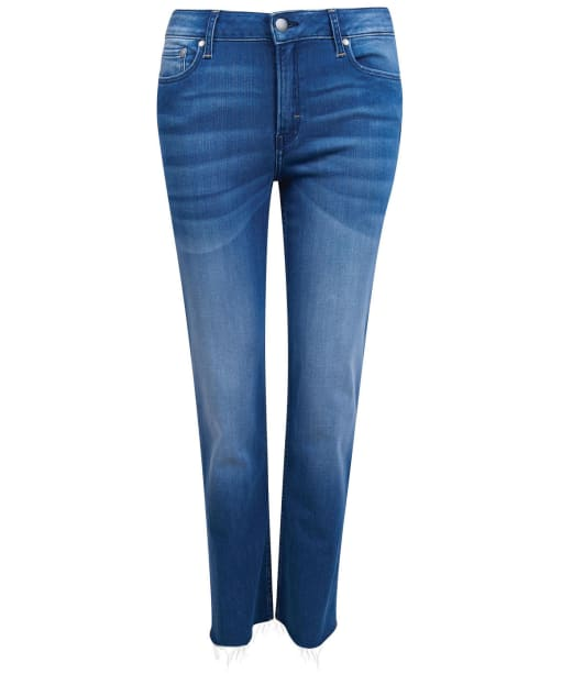 Women's Barbour Fell Straight Jeans - Authentic Wash
