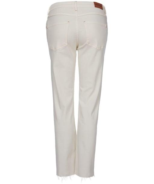 Women's Barbour Fell Straight Jeans - Ecru