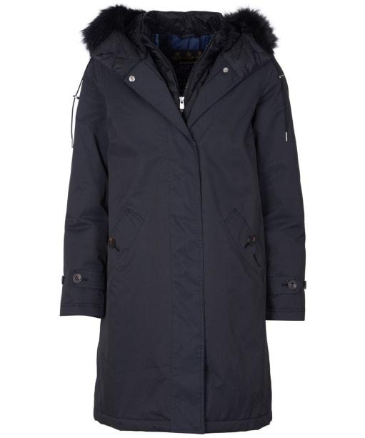 Women's Barbour Braan Waterproof Jacket - Black