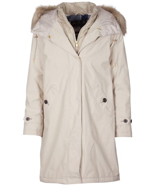Women's Barbour Braan Waterproof Jacket - Mist