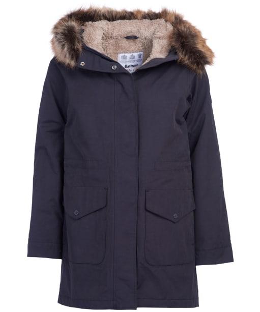 Women's Barbour Swanage Waterproof Jacket - Dark Navy