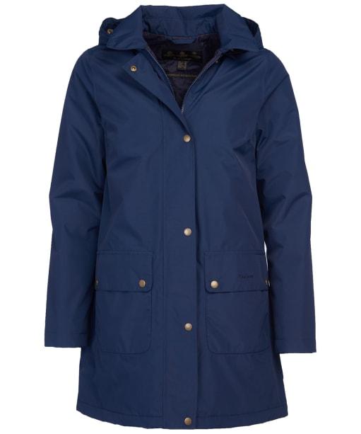 Women's Barbour Pines Waterproof Jacket - Navy