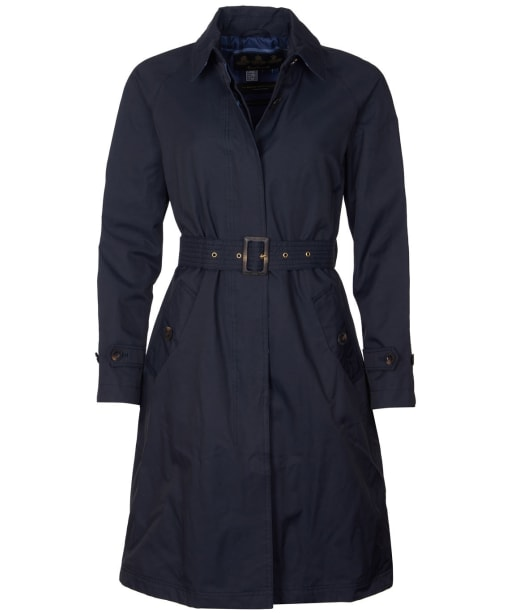 Women's Barbour Findhorn Waterproof Jacket - Dark Navy