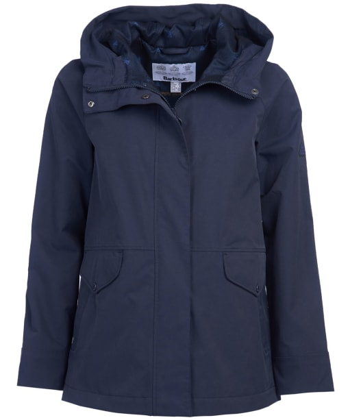 Women's Barbour Mersey Waterproof Jacket - Dark Navy