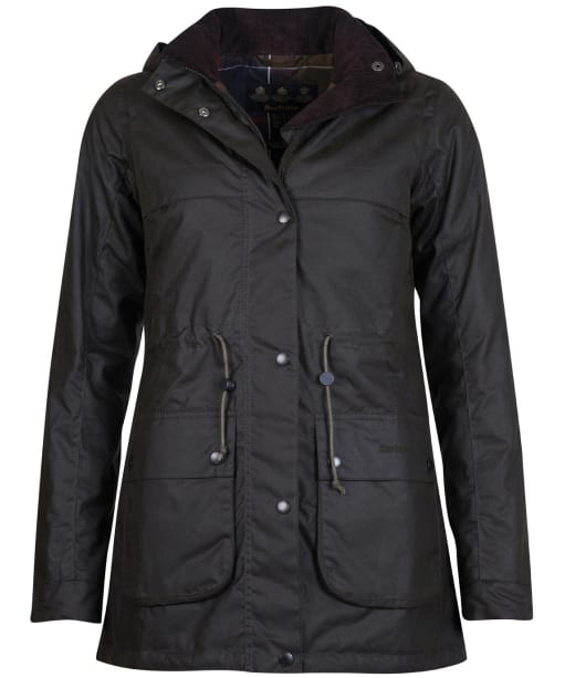 Women's Barbour Cassley Waxed Jacket - Olive